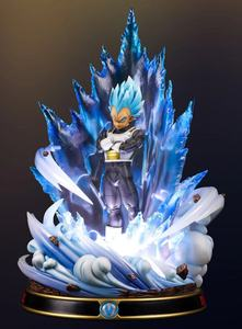 Vegeta Blue  (black armor + clear aura)